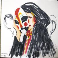 behind the mask by LannySu