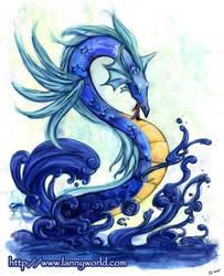 Water Dragon by LannySu