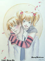 Light and Misa by LannySu
