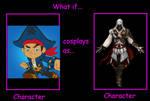 If Captain Jake cosplays as Ezio Auditore
