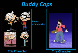If Lincoln/Ace Savvy and Max became Buddy Cops