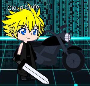 Cloud Strife (Cloudy Wolf/FFVII:AC) in Gacha Club