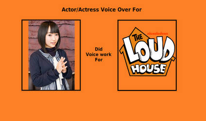 If Aoi Yuuki did JPN voice work for The Loud House