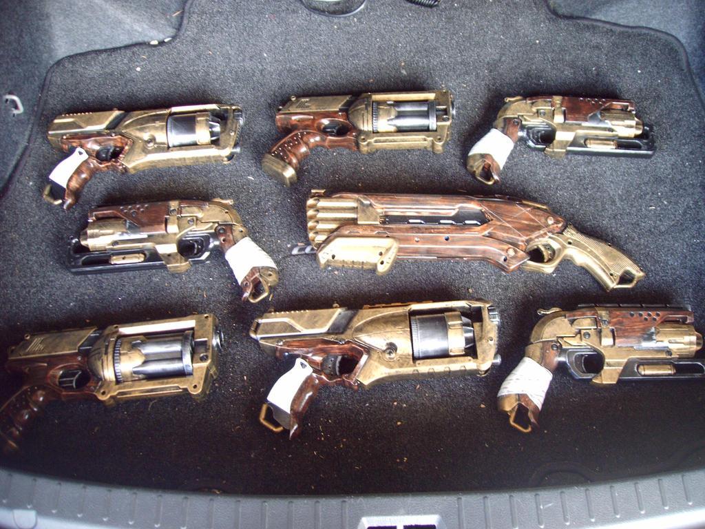 Largest Nerf gun 3