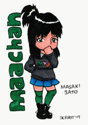 Masaki Sato - Maachan Chibi by Derrot