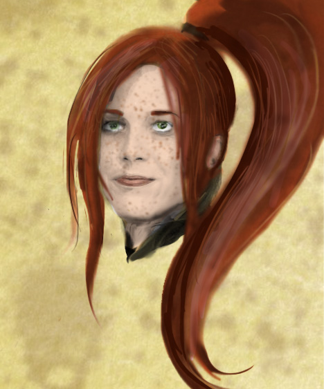 Alivia portrait by ch4rms