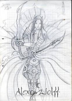 Guerrero del reino elfo