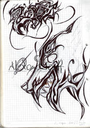 Lobo zeros Grafiti