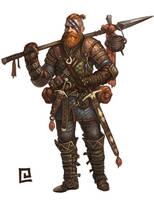 Mercenary: Utility by chrisknightart