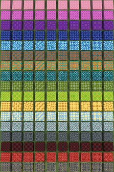 Minecraft: 10 Glazed Terracotta Patterns