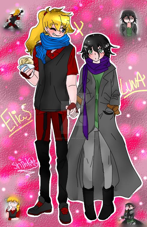 Elias x luna by ShinkatyHatsune