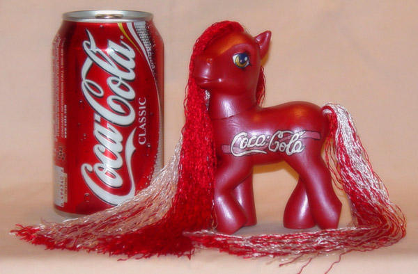 Coca-Cola Custom Pony by FlyingPony