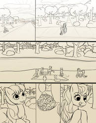 Chapter 13 page 1  sketch by FlyingPony