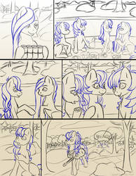 Chapter 13 page 2 sketch by FlyingPony