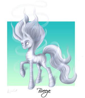 Breeze The Elemental Pony