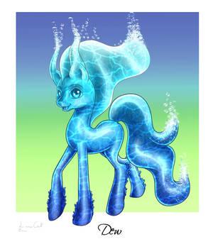 Dew The Elemental Pony