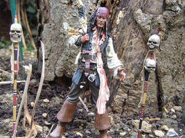 Jack Sparrow - Cannibal King by Ell-Shmell