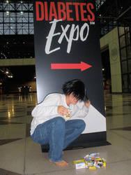 L Goes to the Diabetes Expo by key0fdestiny13