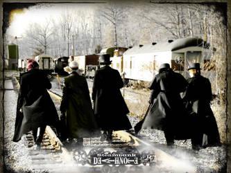 Death Note Steam Punk Walk by key0fdestiny13