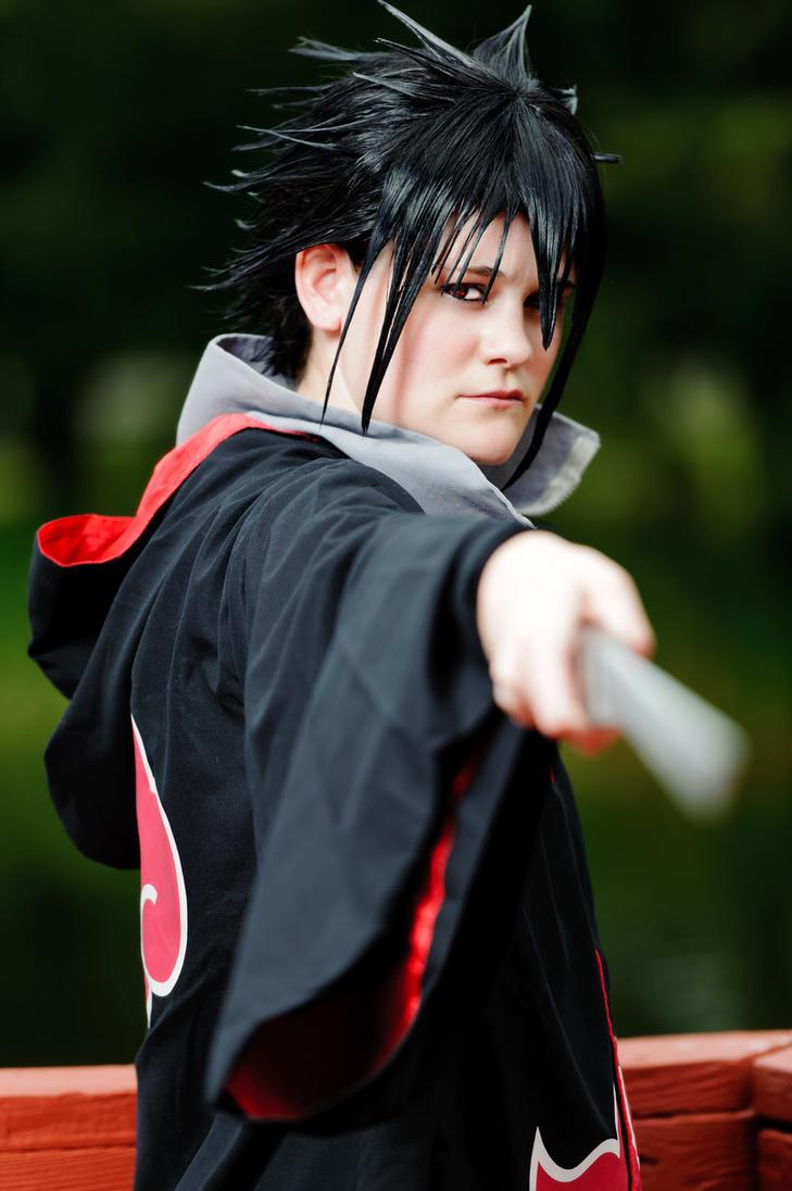 Akatsuki Sasuke by key0fdestiny13