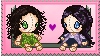 Plushie Twins Stamp by Endorell-Taelos