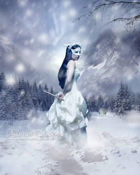 In Her Frozen Masquerade