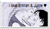 I love Emrah and Jurre Stamp by Endorell-Taelos