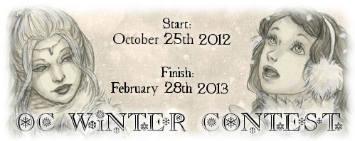 OC Winter Contest Banner by Endorell-Taelos