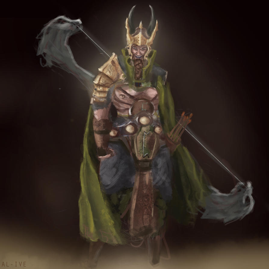 Loki, God of Mischief by Imfunkey on DeviantArt