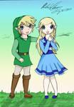 Young Link and Zelda