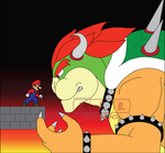 My Bowser Vs Mario