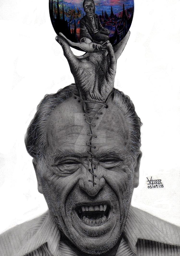 Charles Bukowski by vitorassis88