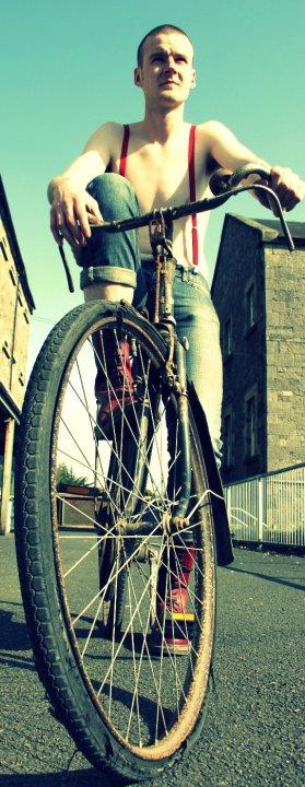 Modeling on bike by Blinding-Sun