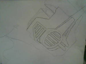 Sketch 1, Optimus Prime.