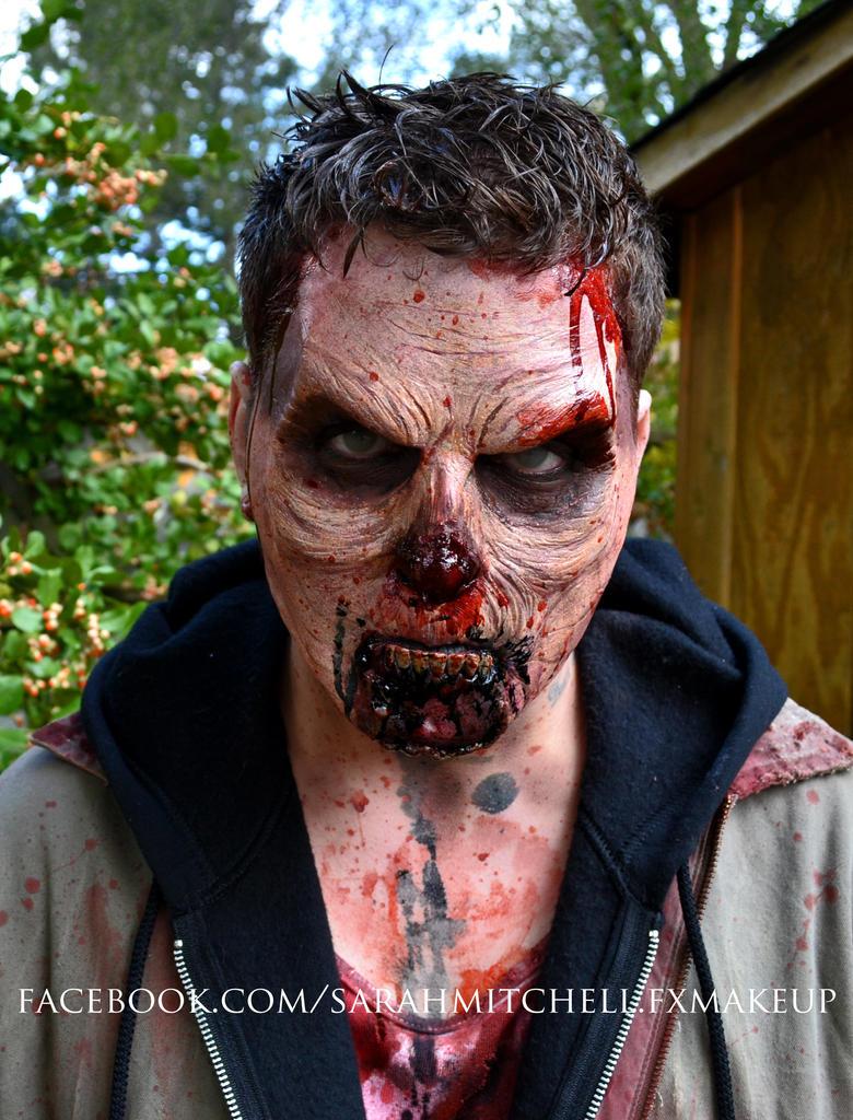Toronto Zombie Walk 2012 - Patrick by sarahmitchellmakeup
