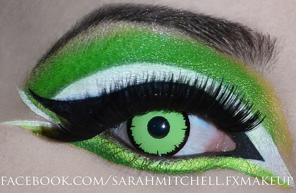 Angelic Green by sarahmitchellmakeup