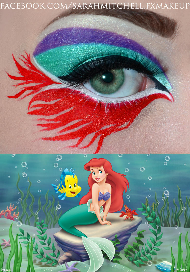 Ariel Inspired by sarahmitchellmakeup
