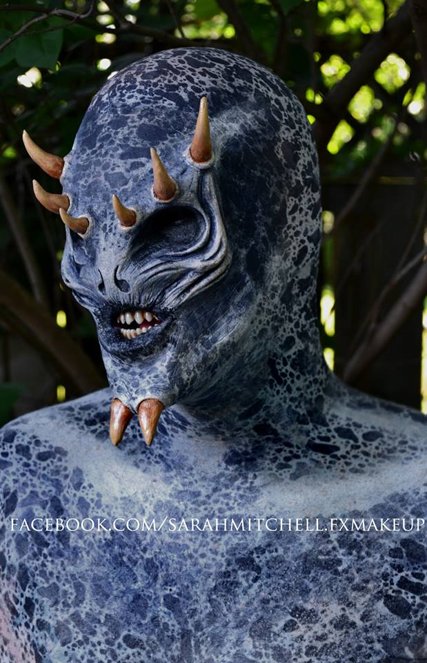 Agamid the Alien - Foam Latex by sarahmitchellmakeup