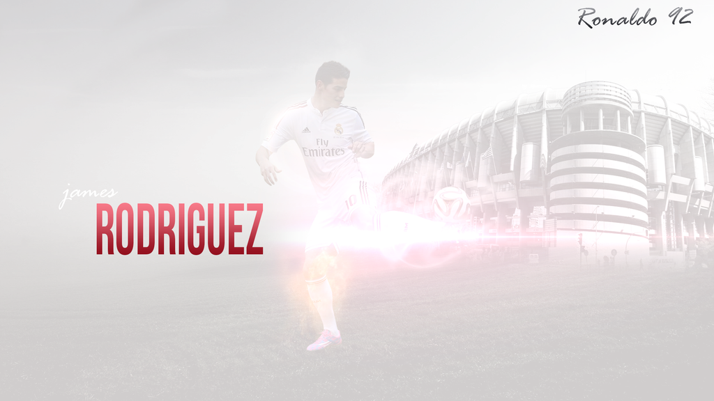 Wallpaper James Rodriguez Real Madrid 2014 2015 By Ronaldo92