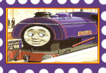 Wilbert the forest engine stamp by g1bfan
