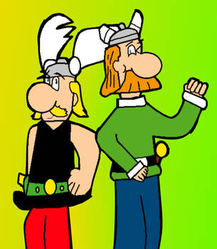 A Gaul and a Briton by g1bfan