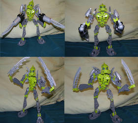 Phantoka Lewa in 3 different weapons by g1bfan