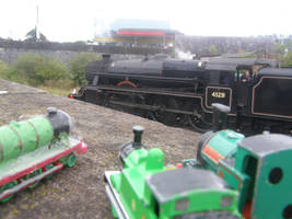 Seeing the lovely Black 5 Loco