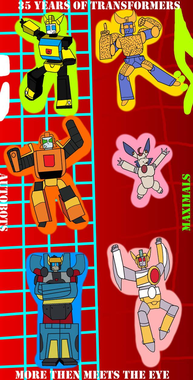 Chibi Kido bots and mals