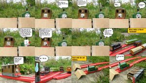 Toby vs the ''Bookclub'' mini comic