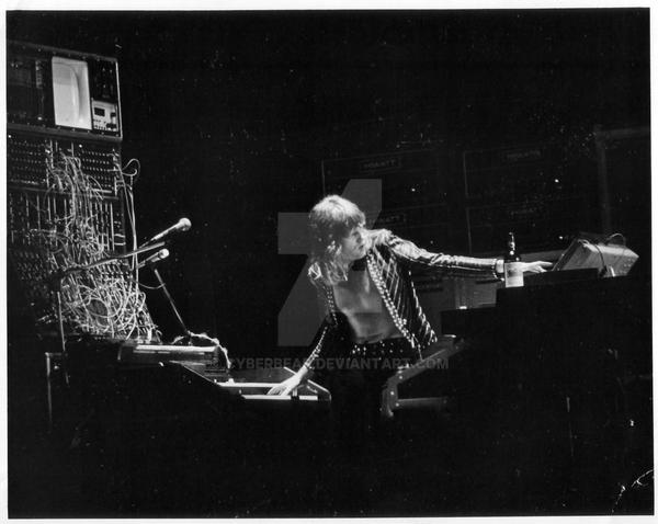 Keith Emerson2 By Cyberbear On DeviantArt