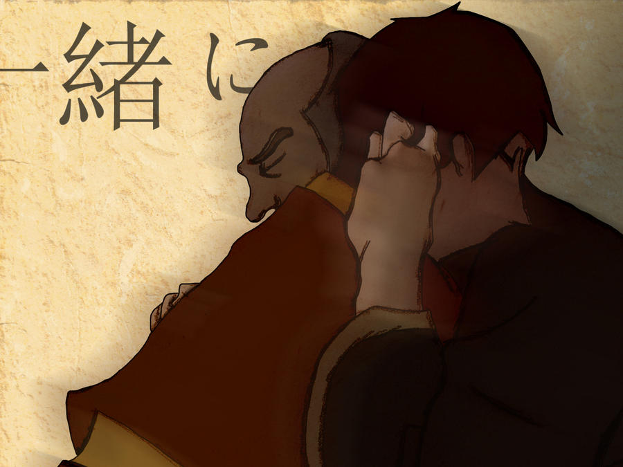 Zuko And Iroh Reunite Zuko and Iroh by Ryodu