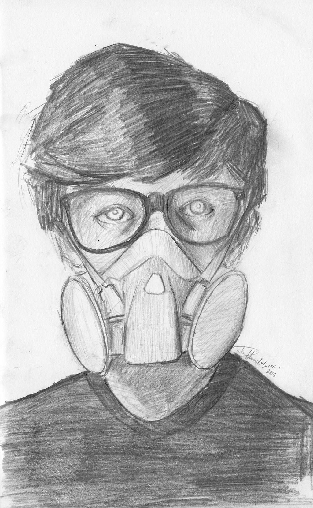 Graffiti Gas Mask Char...