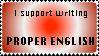 Support Proper English Stamp by Fuzzyfinx
