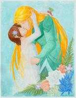 Mistletoe Kiss by algy
